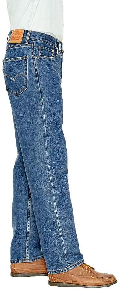 Levi S 550 Pantalon Vaquero De Ajuste Relajado Para Hombre Medium Stonewash Blue 34 Us Amazon Com Mx Ropa Zapatos Y Accesorios