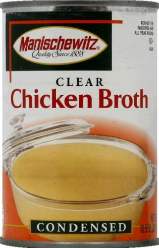 Manischewitz Chicken Soup Broth - 10.5 (Manischewitz Chicken Broth)