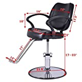 Giantex-Hydraulic-Barber-Chair-Salon-Beauty-Shampoo-Hair-Styling-w-Rectangle-Floor-Mat