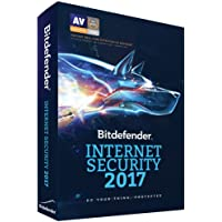 Bitdefender Internet Security 2017 (PC) - 3 Devices - 2 Years