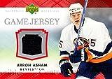(CI) Arron Asham Hockey Card 2007-08 Upper Deck Jersey Series One JAA Arron Asham