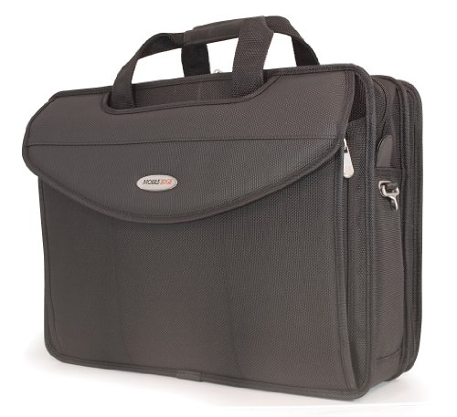 Edge Briefcase Notebook (Mobile Edge Premium 17.3-Inch V-Load Briefcase for Notebooks (MEV17P))