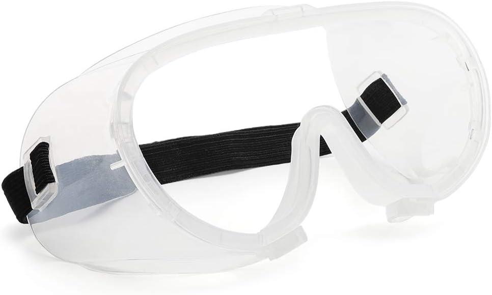 Cyxus Gafas de Seguridad (Tamaño Pequeño), Gafas de Seguridad Anti-Aerosol Profesionales Anti-Gotitas Anti-Empañado A Prueba de Polvo Protección contra el Viento para Cara Pequeña, Niños, Mujeres