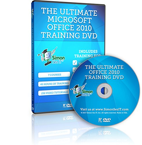 The Ultimate Microsoft Office 2010 Training Course - 45 Hours of Video Training Tutorials