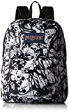 JanSport Mens Classic Superbreak Backpack - Black Paintball / 16.7