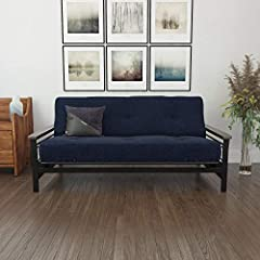 Get the ultimate mattress style without compromising comfort with DHP essence 8-inch independently encased coil futon mattress. Made with certipur-us certified foam, this mattress will have you dreaming for days! it's been design with a super...