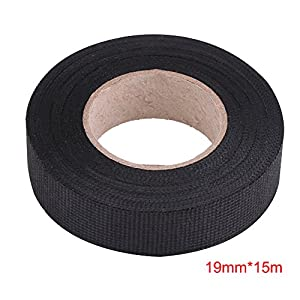 amazon com insulation tape black high temperature resistant rh amazon com bmw wiring loom tape BMW Seats
