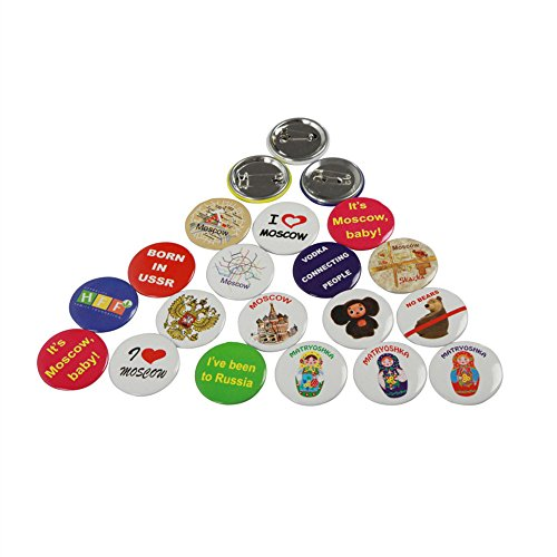 Dawei 32mm Badge Parts Supply 100 Sets Suitable for Dawei badge making machine 1001/1002/1003/1004-32