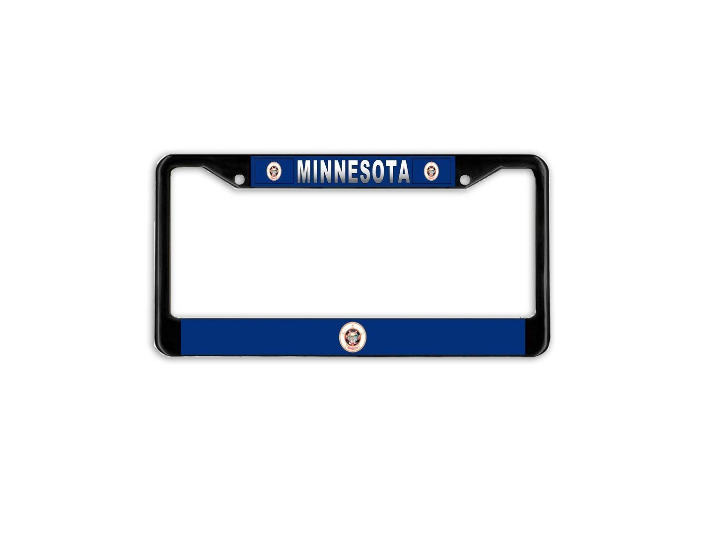 Aluminum License Plate Frame with Screws FashionCZYframe License Plate Frame for Women//Men Car License Plate Cover for US Vehicles