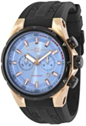 Officina Del Tempo - Sail II - 45mm Chronograph - OS21 - Blue/Rosegold