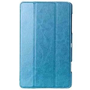 MTP Samsung Galaxy Tab S 8.4 / LTE Smart Funda de Tres Pliegues, Bookstyle Book Case, Carcasa, Cover con función de Soporte - Azul