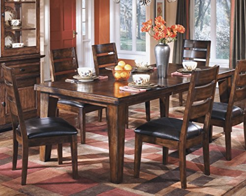 home, kitchen, furniture, kitchen, dining room furniture,  tables 4 on sale Ashley Furniture Signature Design - Larchmont Dining Room Table promotion