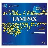 Tampax Applicator Tampons Regular (48)