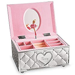 Lenox Childhood Memories Metal Ballerina Musical Jewelry Box