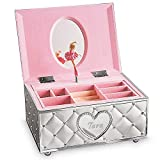 Lenox Personalized Engraved Childhood Memories Ballerina Musical Jewelry Box