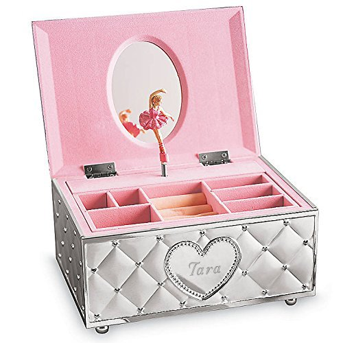 Lenox Personalized Engraved Childhood Memories Ballerina Musical Jewelry Box by Lenox