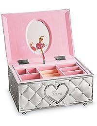 Personalized Childhood Memories Ballerina Musical Jewelry Box