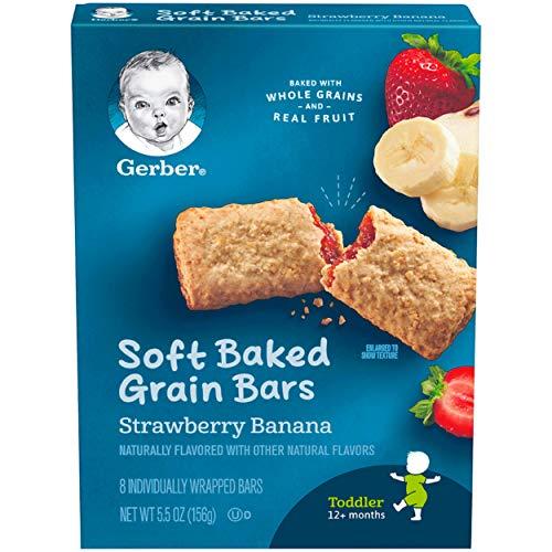 Gerber Graduates Banana Strawberry Cereal Bar,  5.5 oz