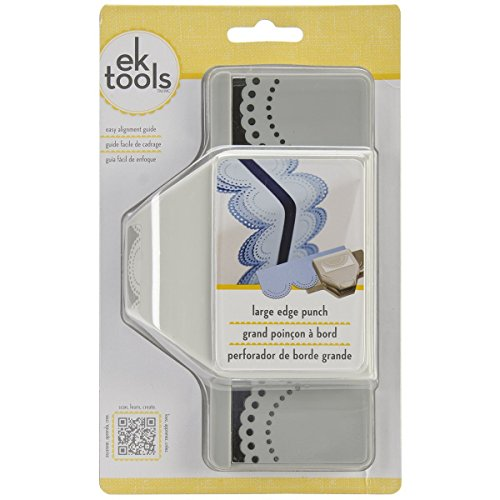 Double Edge Scallop (EK Tools 54-50073 Edge Paper Punch, Large, Dotted Scallop)