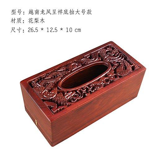 HL-PYL Rosawood Rosawood Box Box Holzrauch Tube Inneneinrichtungsgegenstände Hölzerne Phoenix Pappschachteln,Type 1- Tuba