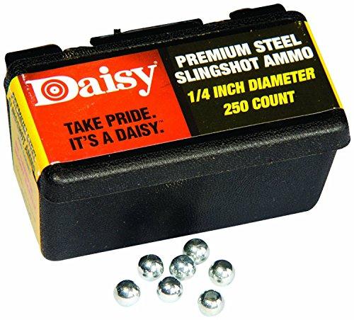 Steel Slingshot Ammunition - Daisy 8114 1/4