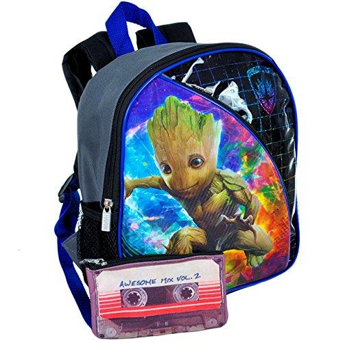 Disney Toddler Preschool Backpack 10 inch Mini Backpack (Guardians of the ()