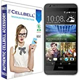 bagtag Cellbell HTC Desire 620 (Clear) Tempered Glass Screen Protector -Bronze Edition