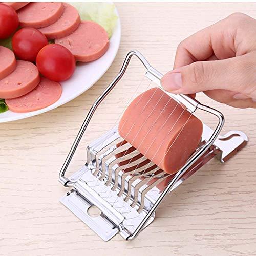 Celiy Kitchen Restaurant Boiled Egg Slicers Multipurpose Stainless Steel Wire Egg