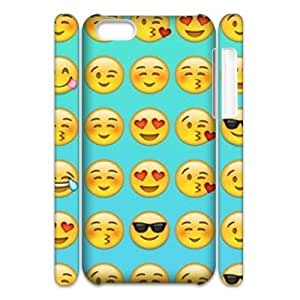 Cool Smiley Faces emoji 3D Hard Back Durable Case for Iphone 6 plus 5.5'',diy Cool Smiley Faces emoji 3d case series 3