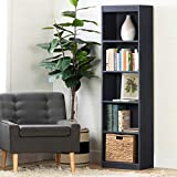 South Shore 12334 Axess 5 Shelf Narrow Bookcase, Blueberry by South Shore
