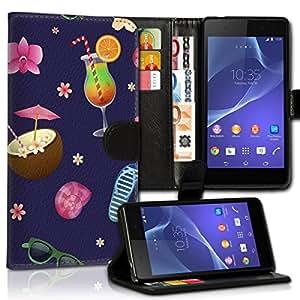 Wallet Wicostar–Funda Case Funda Carcasa diseño Funda para Samsung Galaxy S6Edge SM–sm-g925–Diseño Flip mvd256