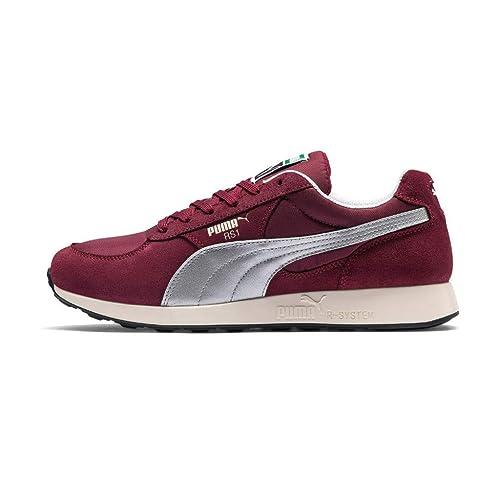 Puma 369369, Baskets pour Homme Rouge Rouge Bordeaux: Amazon