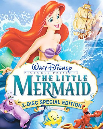The Little Mermaid  Dvd  2 Disc Set  Special Edition