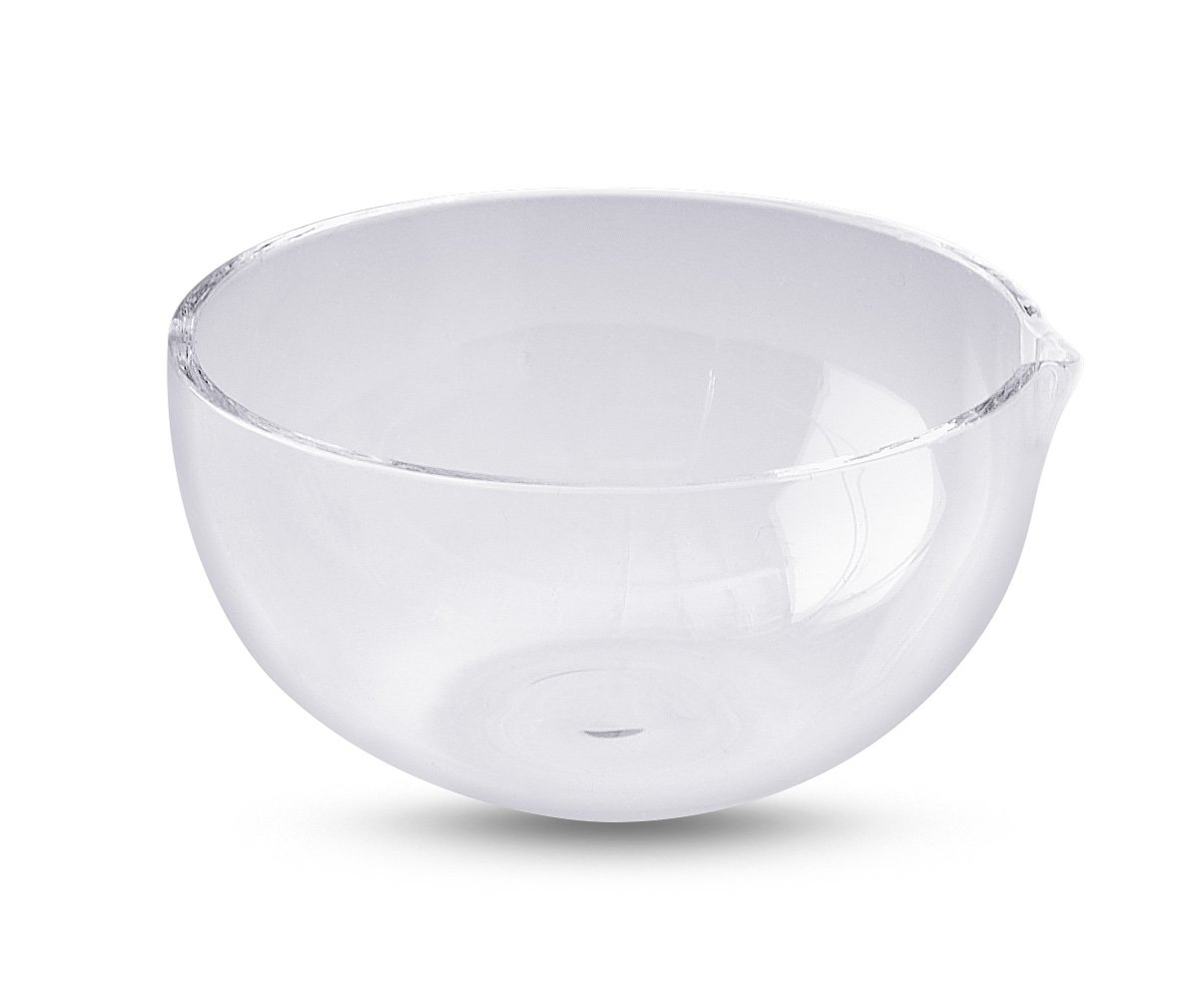 Technical Glass Products 1029OQKY7FL Fused Quartz Evaporating Dish, 300 cc Capacity, 120 mm Diameter, 60 mm Height