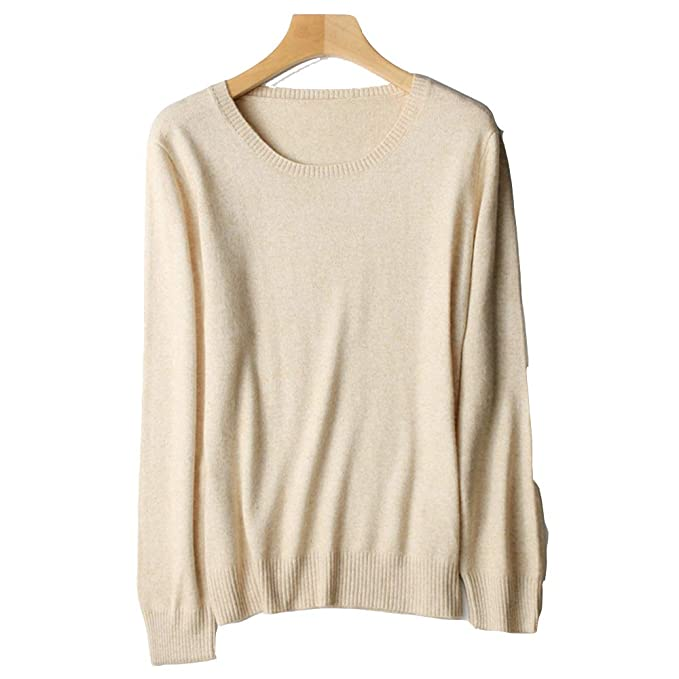 bdf9045a5e72 WNDSYN Spring Winter O-Neck Cashmere Wool Sweater Women Solid Big Pullovers  Jumper Knitted Sweaters