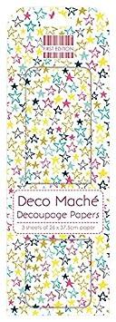 10x0.5x30 cm paper Multi Colour First Edition FSC Deco Mache-Bright Geometric