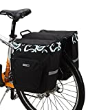 docooler 30L Cycling Bicycle Bag Bike Double Side Rear Rack Tail Seat Bag Pannier