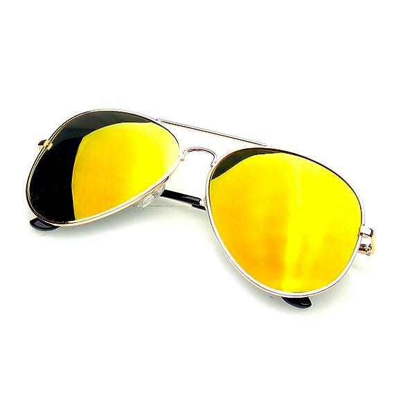 473c3451f7 Emblem Eyewear Espejo Completo Flash Polarizados Gafas De Sol De Aviador  (Azul Plata): Amazon.es: Ropa y accesorios