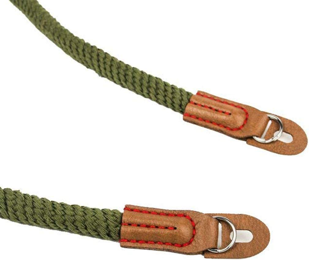 Guoshang Camera Strap Soft Cotton Vintage Universal Shoulder Neck Belt Strap Camera Hand Strap Heavy Duty Safety Wrist Strap