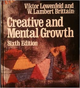 creative and mental growth by viktor lowenfeld 1975 08 07
