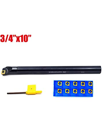 SHARS 1//2 Indexable 90 Degree Boring Bar TCMT Insert 404-7163 P