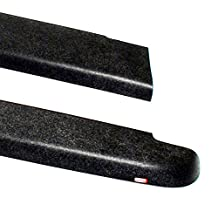 Wade 72-40181 Truck Bed Rail Caps Black Smooth Finish without Stake Holes for 2004-2012 Chevrolet Colorado & GMC Canyon Standard Cab Extended Cab (Set of 2)