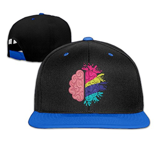 Unisex Cotton Twill Snapback Colorful Baseball cap Blue - 7
