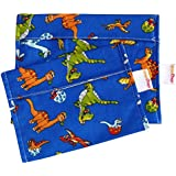 gogoBags Reusable Snack and Sandwich Bags - Handmade In Canada - 100%cotton (Dino)