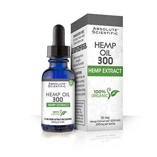 Absolute Scientific Hemp Oil 300, Dropper