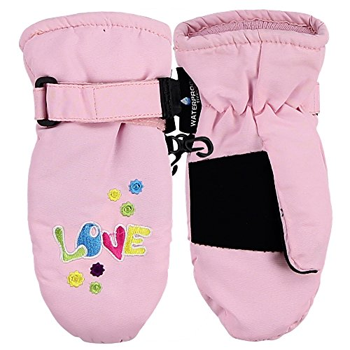 Toddler Waterproof Thinsulate Winter Mittens