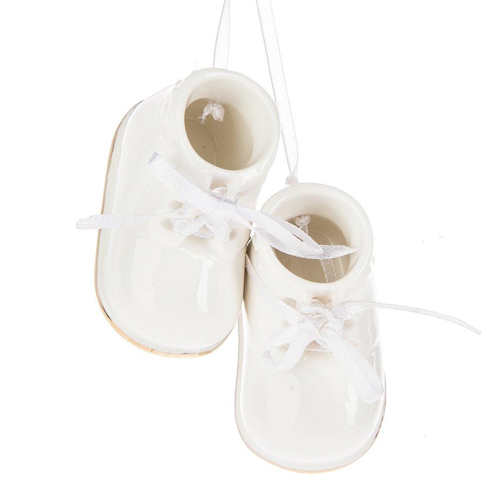 Amazon.com  Midwest-CBK Baby Booties Ornament 89120d280fc1