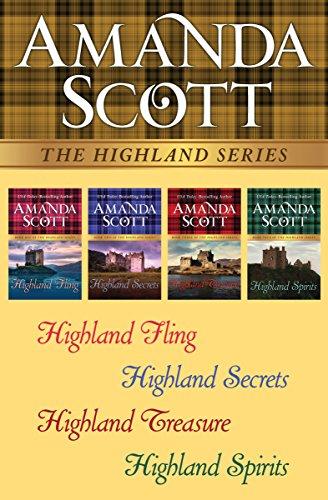 The Highland Series: Highland Fling, Highland Secrets, Highland Treasure, and Highland Spirits cover