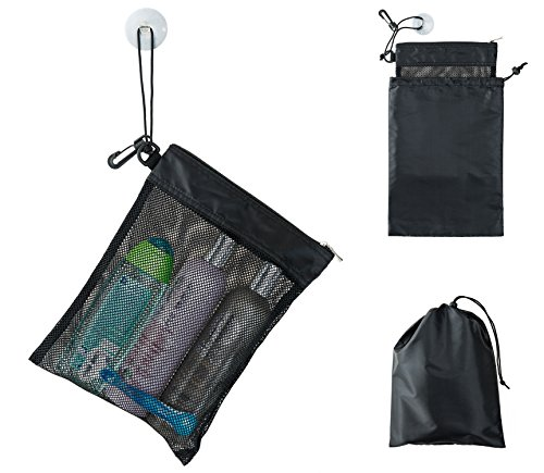 Shower Bag Tote is one way to Protect Valuables From Theft With A Secure Campsite