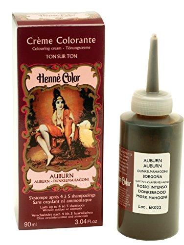 Henne Color Auburn Henna Hair Colouring Cream 90 ml